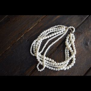 Charming Charlie Multi Strand Necklace NWOT